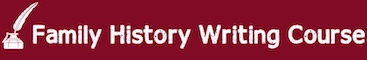 Family History Writing Course